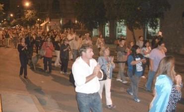 Hubo marchas en Junín por la muerte del fiscal Nisman