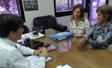 El intendente Dr Franco Flexas se reuniò con directivos del ISFD Nº 60
