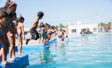 El viernes, en Los Toldos, quedaron inauguradas las  Escuelas abiertas de verano