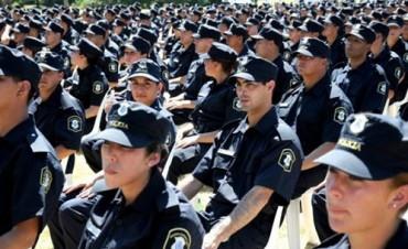 En toda la región inscriben para ingresar a la Policía de la Provincia
