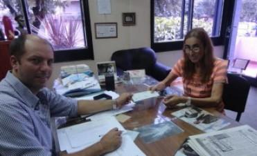 Javier Carlos Mignaquy, entregó Subsidios al Consejo Escolar y Bomberos Voluntarios