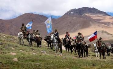 Avanza el cruce en Los Andes que rememora la gesta de San Martin