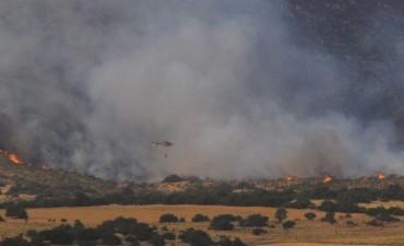 Incendio en Sierra de la Ventana: el fuego arrasó 4 mil hectáreas