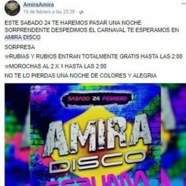 Polémica en Salta.  Escándalo por una disco donde los rubios entran gratis