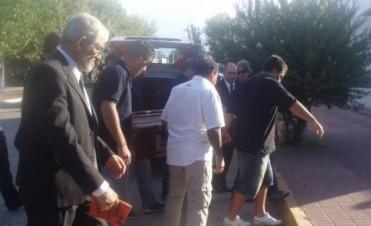 Dolor en Los Toldos: Los restos de Pablo Mora, camarógrafo de Carburando asesinado el miércoles, ya descansan en Los Toldos