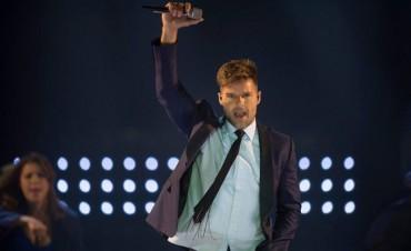 A puro ritmo y sensualidad, Ricky Martin hizo estallar Junín