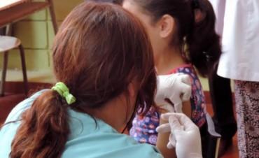 La salud primero. Operativo vacunaciòn