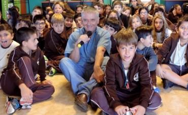 Visita de alumnos del Colegio San Josè  al complejo ambiental