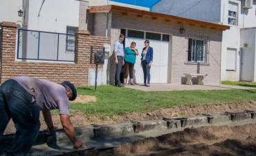 Obras en barrios de la ciudad