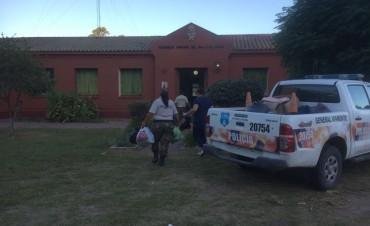 CPRural y ayuda humanitaria a una institución educativa del partido