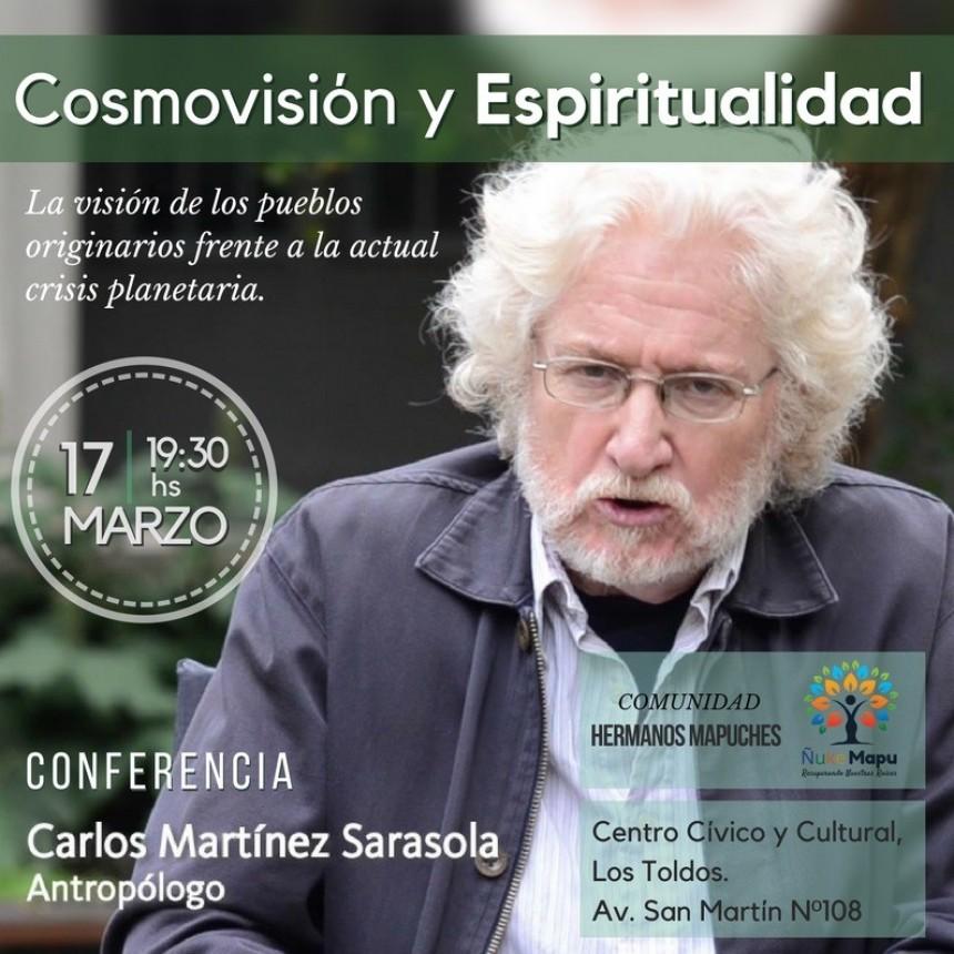 CONFERENCIA Abierta y Gratuita con  Carlos Martínez Sarasola