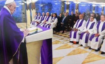 El Papa Francisco, enviò un mensaje a nuestra comunidad