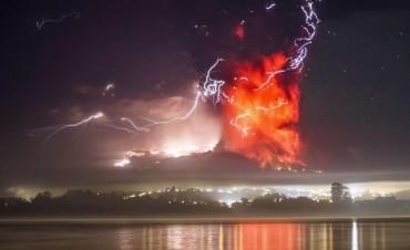 EL CALBUCÒ: Hace su 3º erupciòn con toda su furia