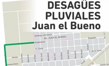 El barrio Juan El bueno, tendrà sus tan esperadas obras y parte serà con mano de obra de nuestro medio