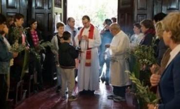 Se celebró el domingo de ramos en Parroquias y capillas