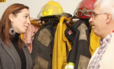 La referente del PRO, María Eugenia Vidal, estuvo en Los Toldos