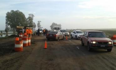 Accidente en ruta 65, en cercanías del Monasterio