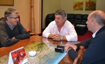 El intendente Selva, de la ciudad de Mercedes, recibió a nuestro  intendente