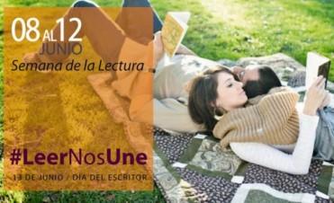 La provincia de Buenos Aires celebra la Semana de la Lectura con el lema #LeerNosUne