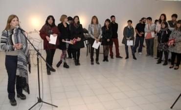 Se entregaron los premios correspondientes al Salón Provincial de Arte Joven 2015 - Escultura