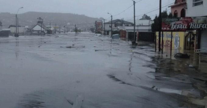 Emergencia climática en Chubut tras el temporal de nieve