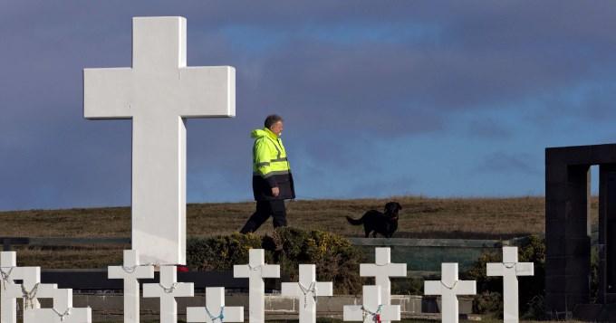 Empezaron las tareas en Malvinas