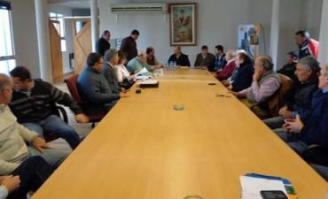 En la Sala Bicentenario de la Municipalidad de Gral. Viamonte, se realizo la Primer reunión de Gabinete con el Intendente Dr. Javier Carlos Mignaquy