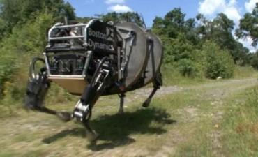 El llamativo robot que EEUU prepara para la guerra