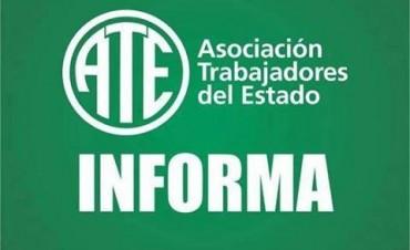 El Consejo Directivo de ATE definió medidas de fuerza