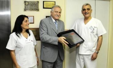 IOMA homenajeó a la Fundación Favaloro en su 40° aniversario