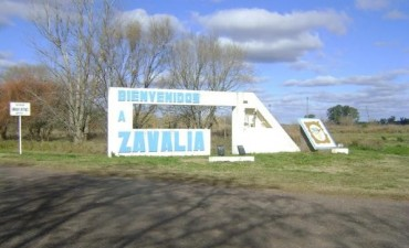 Gran Peña de carnaval en la localidad de Zavalia