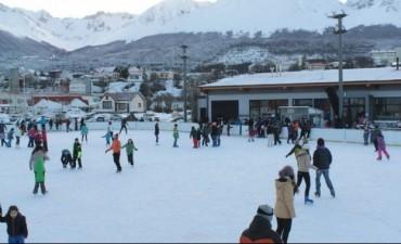 Ushuaia tiene todo listo para reinaugurar su pista de hielo