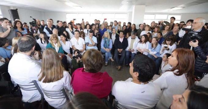 Cristina: No finalizar las obras es de cavernicolas