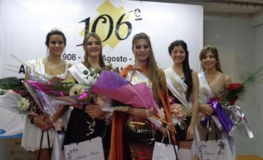 La Joven Pamela Cavo, es la nueva Reina del Partido de General Viamonte, por el periodo 2014/15