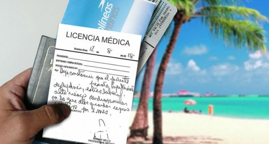 Detectan docentes de vacaciones estando con licencia médica