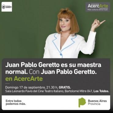 BIENVENIDO Juan Pablo Geretto!