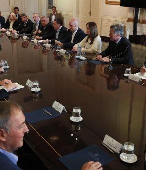 Macri se juntó con los gobernadores