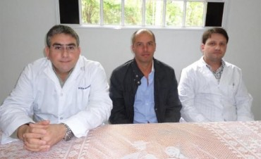 El Intendente Municipal Dr. Javier Carlos Mignaquy, puso en funciones al Secretario de Salud del Municipio y al Director del Hospital Municipal