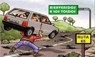Arlía prometió mejoras en las carreteras bonaerenses: