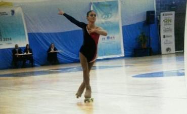 Patìn artìstico: Valeria Federico se consagró Subcampeona nacional en Free Dance Categoría Elite Juvenil