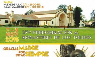 Llega la 37° peregrinación al Monasterio