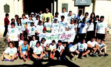 La Maratón Tinelli se vio desbordada de toldenses