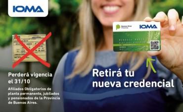 La obra social convoca a sus afiliados a reemplazar sus antiguos carnet de papel IOMA se despide de las credenciales de papel