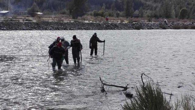 Hallaron cadáver en el río donde rastrillaban por Maldonado