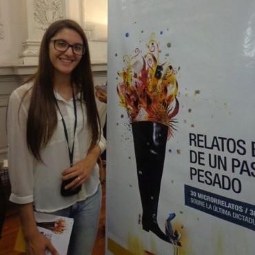 La joven Toldense Jana Caterina Doeswijk fue seleccionada para integrar un libro educativo sobre la dictadura