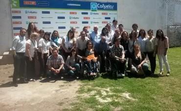 """Jornada de Referentes Municipales en Accesibilidad Turística"""", se realizò en Cañuelas y participò una delgacion del municipio"""