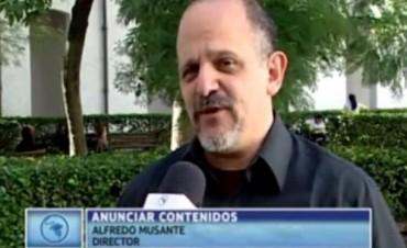 Alfredo Musante y su columna