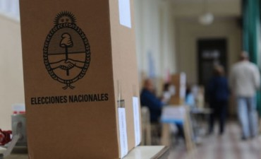 Resultados parciales en el distrito de Gral Viamonte