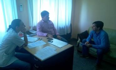 El Intendente electo Franco Flexas, continùa con reuniones, organizando todo para el proximo 10 de Diciembre. Comenzò la cuenta regresiva!