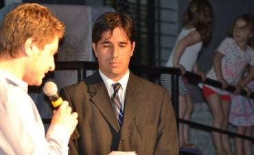 Anoche pasadas las 21 asumiò Franco Flexas, como intendente